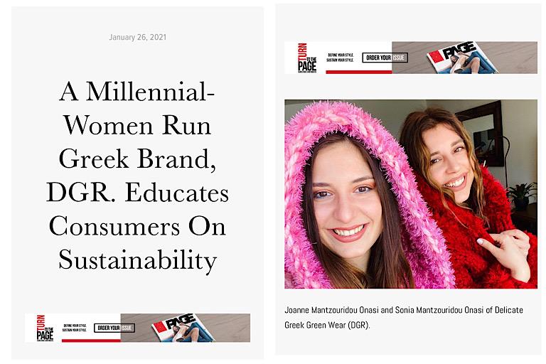 Millennial Women run a sustainable company