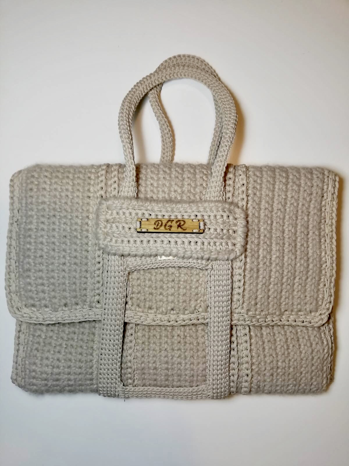 Crochet Bag in ivory